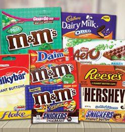 Chocolates e Caramelos